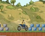 Trial-set-with-a-motorcycle-in-nature
